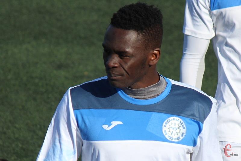 Сулейман Діонг з Сенегалу став гравцем хмельницького Поділля