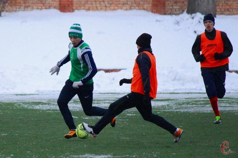Минулорічної зими Поділля та Агробізнес також грали між собою контрольні матчі