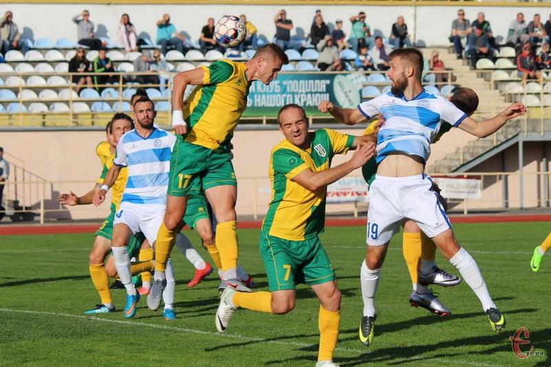 Полісся, яке цього сезону двічі програло Поділлю в Хмельницькому, 10 листопада перемогло хмельничани у Житомирі