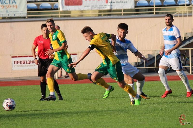 Полісся у контрольному матчі виявилося сильнішим за Поділля, вигравши 2:0