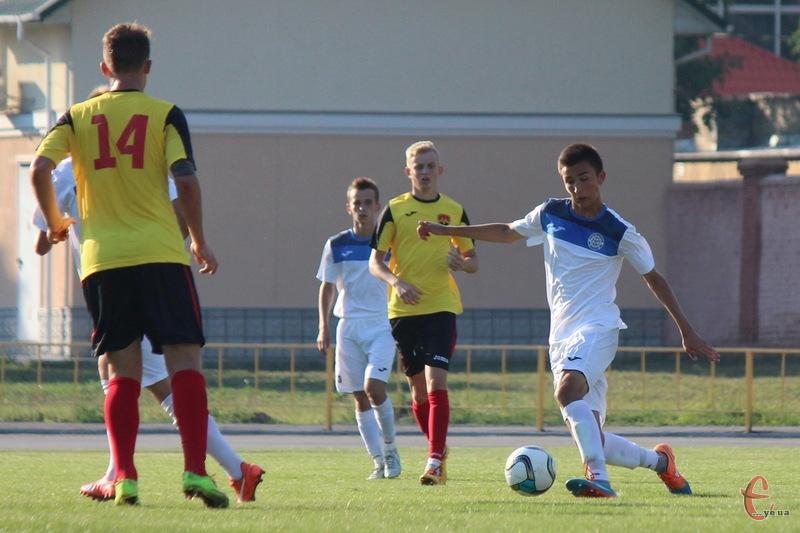 Андрій Ліповуз хоч і забив у ворота Металурга, але одного голу Поділлю не вистачило, щоб здобути очки на виїзді