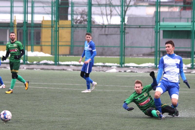 Поділля програло контрольний матч тернопільській Ниві з рахунком 0:3