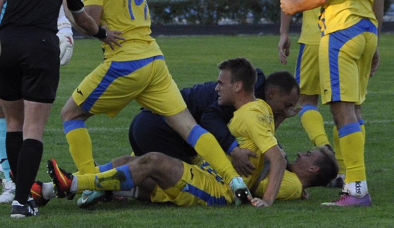 Агробізнес у Миколаєві зміг відігратися аж на 95 хвилині матчу