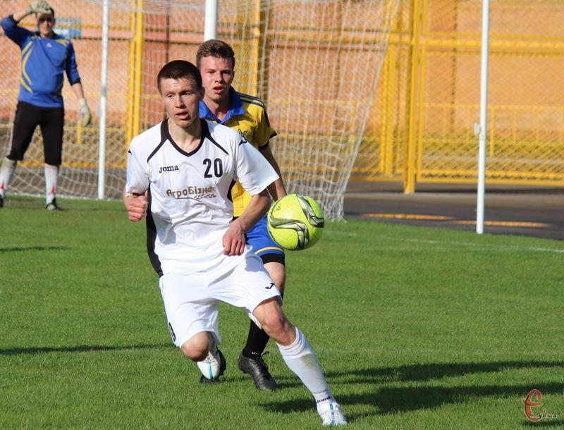 Микола Темнюк забив переможний гол у ворота ОДЕКу на 25 хвилині