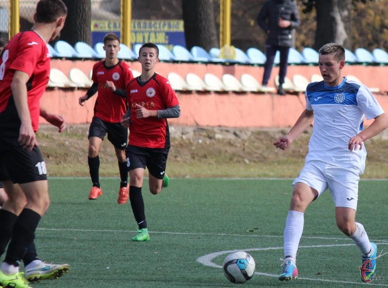 Андрій Наконечний, якому лише в листопаді виповниться 18 років, відзначився двома забитими голами