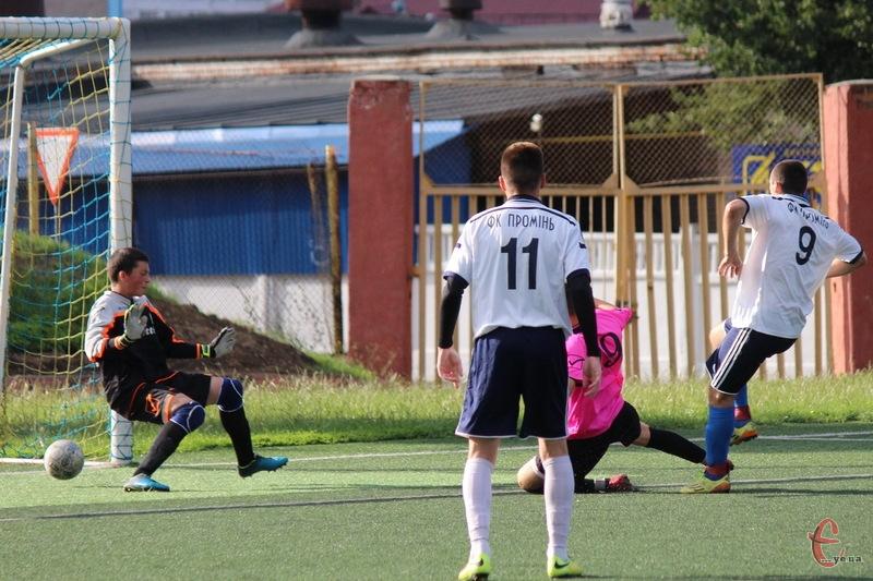 Хмельницький Промінь минулого року виграв чемпіонат у першій лізі. І може повторити свій успіх 20 жовтня, якщо обіграє команду з Нетішина