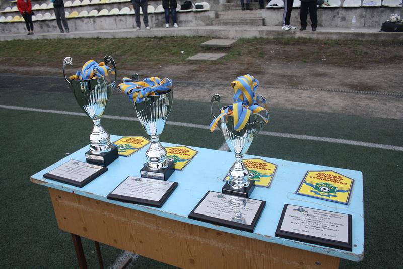 Чемпіонат Хмельницької області з футболу в першій лізі завершився двома матчами в Хмельницькому
