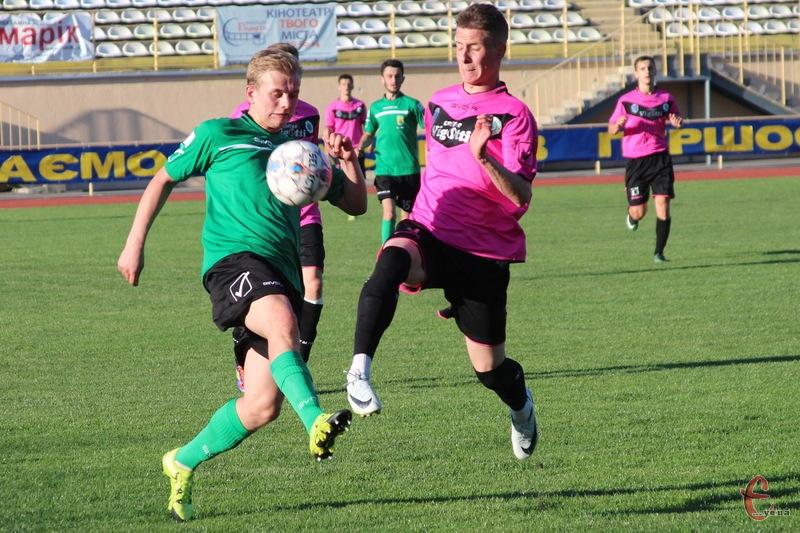 ФК Хмельницький виграв свій дебютний матч у нинішній першості Хмельниччини з футболу
