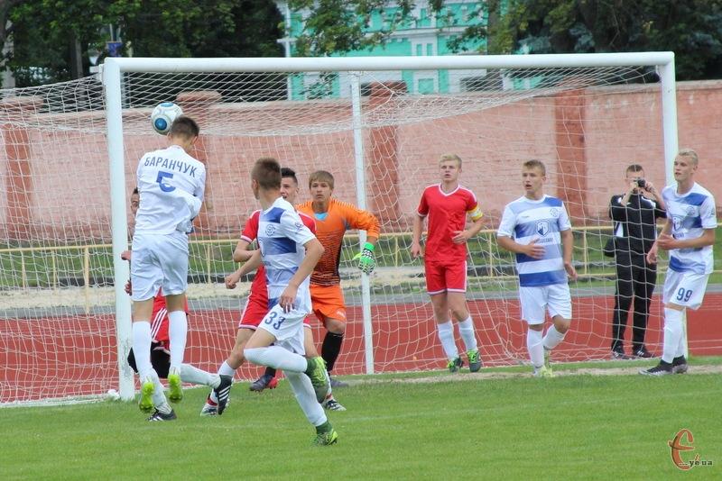 Гол Богдана Баранчука приніс перемогу хмельнцькому Поділлю U-16 в першості області