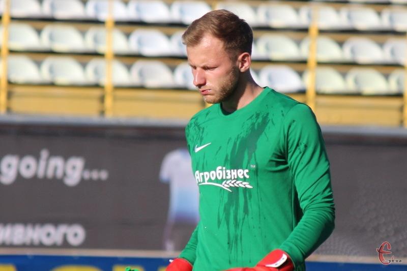 Олег Мозіль пропустив два голи в матчі з Волинню. Обидва з пенальті