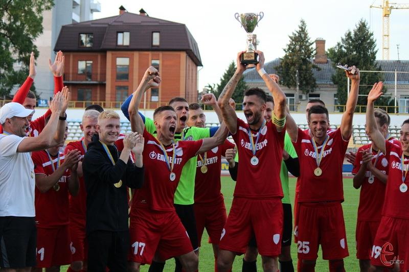 ФК Епіцентр другий рік поспіль виграв Кубок Хмельницької області з футболу