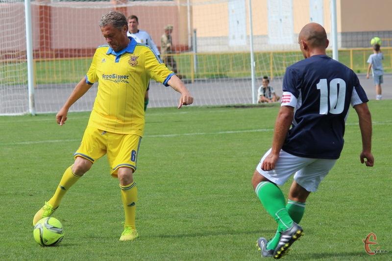 Мирон Маркевич дебютував в якості гравця збірної України серед ветеранів