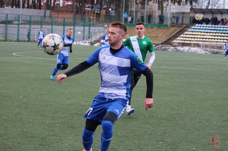 Володимир Гладкий двічі забив у ворота молодіжного складу \