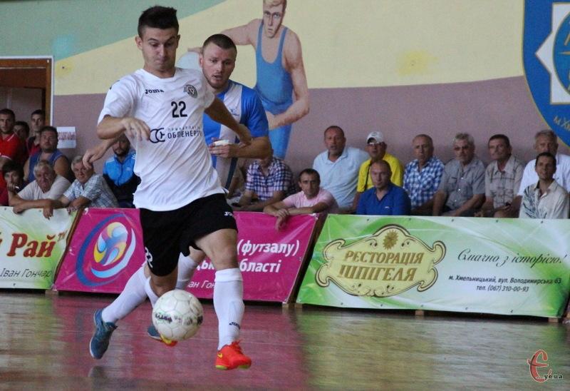 В першому матчі Кубка свободи, який стартував у Хмельницькому, івано-франківський Ураган розписав нічию 3:3 з херсонським Продексімом