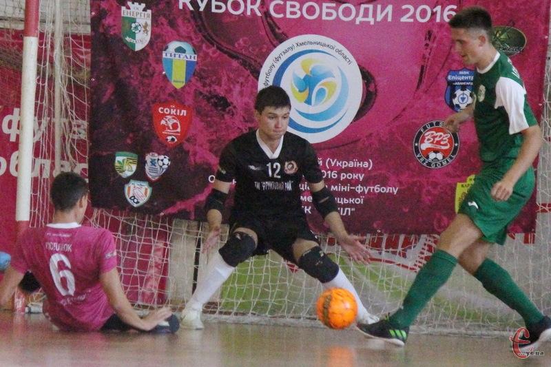 Голкіпер Сокола Ілля Бакінський завадив своїй команді виграти бронзові медалі на Кубку Львівщини