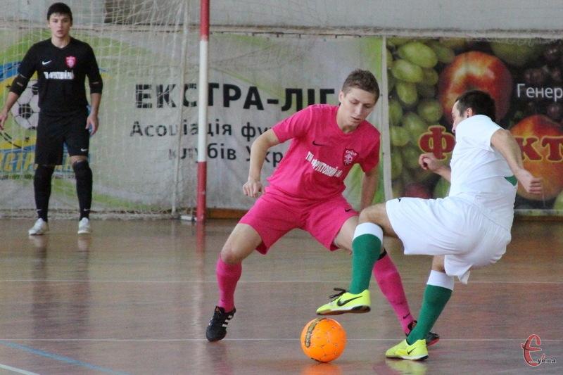 Андрій Лисенко став автором першого голу Сокола в матчі проти львівської Енергії