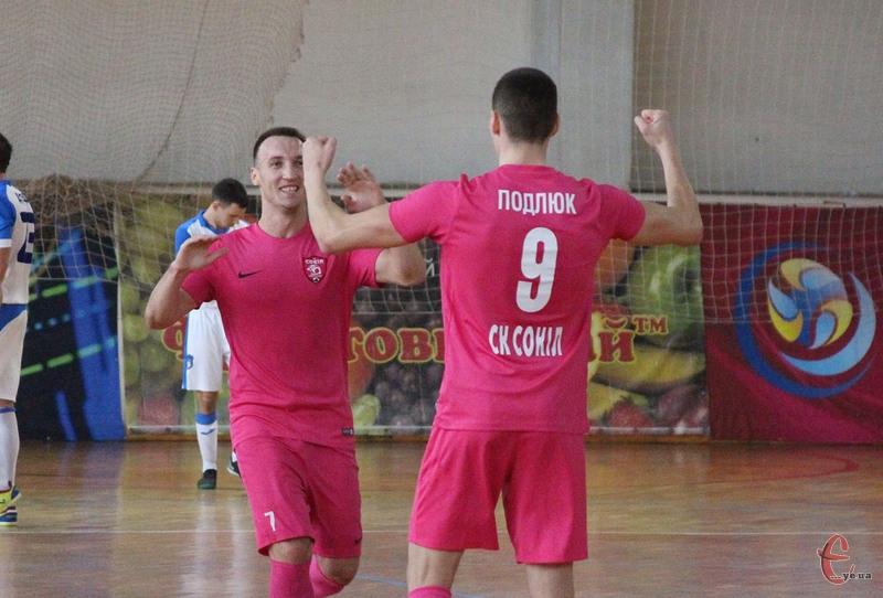 Хмельницький Сокіл здобув другу перемогу в новій першості з футзалу в Екстра-лізі