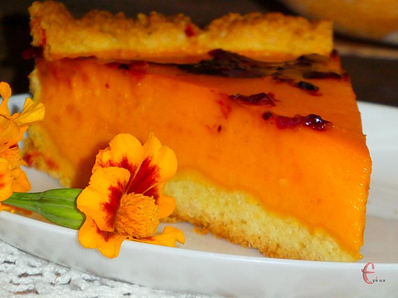 По-справжньому сонячний і яскравий пиріг із серії «і око радує, і на смак багатий».