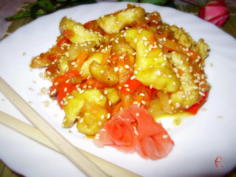 «Го Бао Жо» можна подати як окрему страву або з гарніром – краще з рисом.