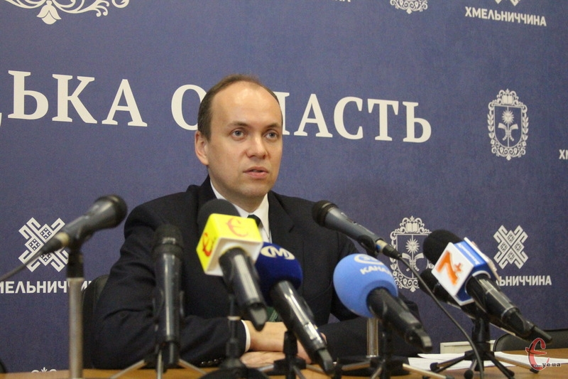 Дмитро Габінет, голова Хмельницької облдержадміністрації
