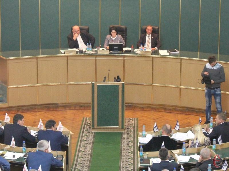 Друга поспіль сесія обласної ради пройде без Михайла Загородного