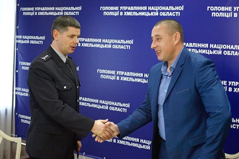 Заступником став полковник Володимир Голубош (на фото – ліворуч)