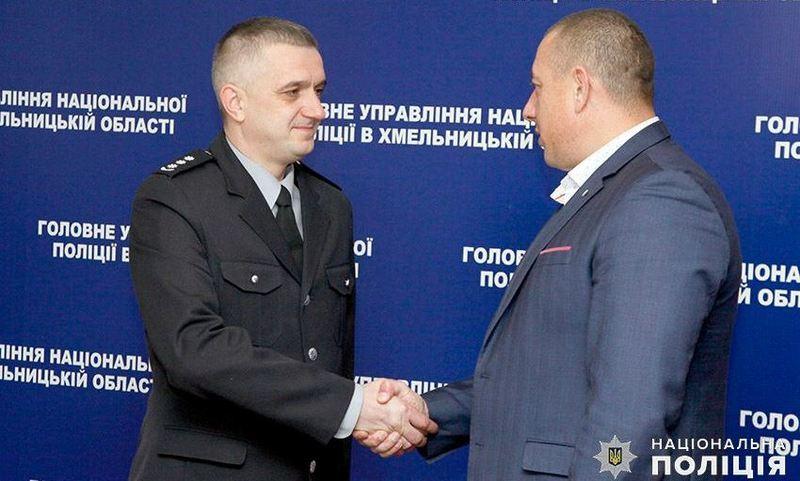 Василь Віконський привітав Вадима Матвійчука на новій посаді