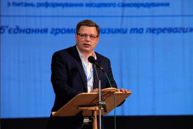 Сергій Яцковський - директор агенції регіонального розвитку області.