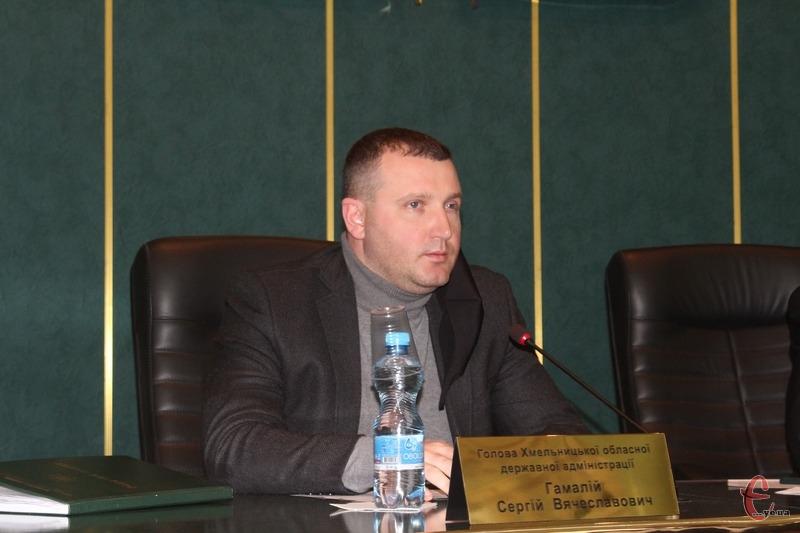 Сергій Гамалій зазначив, що чисельна кількість працівників РДА - це рішення не Хмельницької ОДА, а Кабінету Міністрів