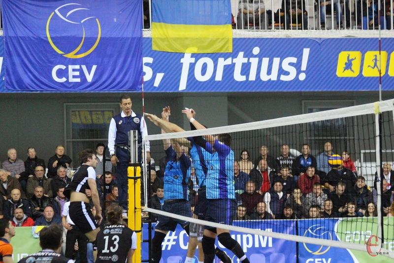Городоцький спорткомплекс, який торік приймав Єврокубковий матч, цього року вже вдруге приймає етап Кубка України