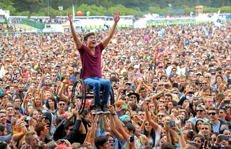 Фестиваль стане комфортним для людей з обмеженими можливостями