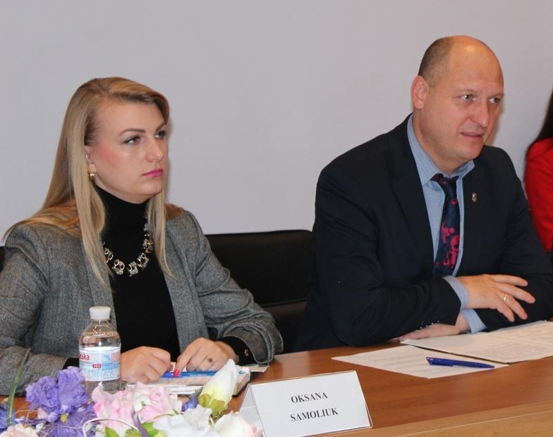 Оксана Самолюк - керівник апарату Хмельницької облдержадмінстрації