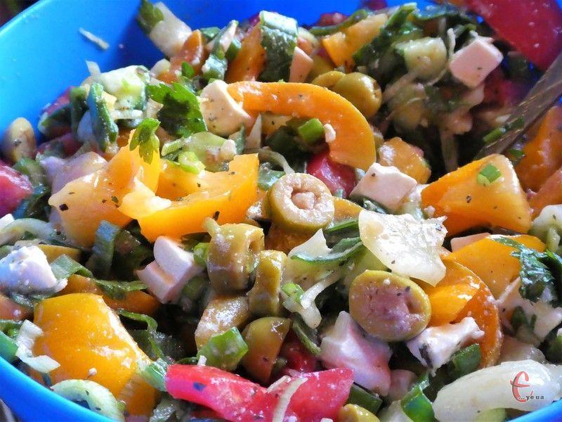 Ідеальний салат для будь-якої події!