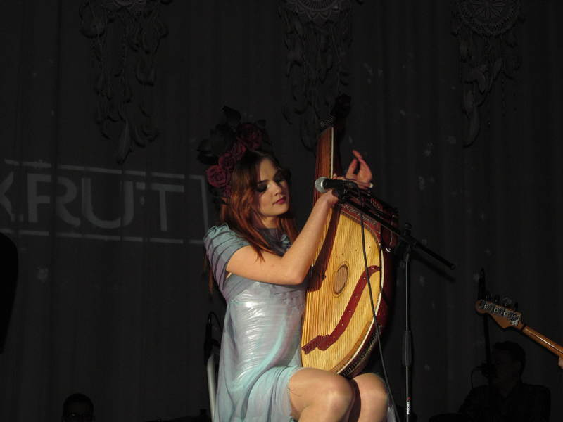 Марина Круть разом із гуртом зіграла великий концерт