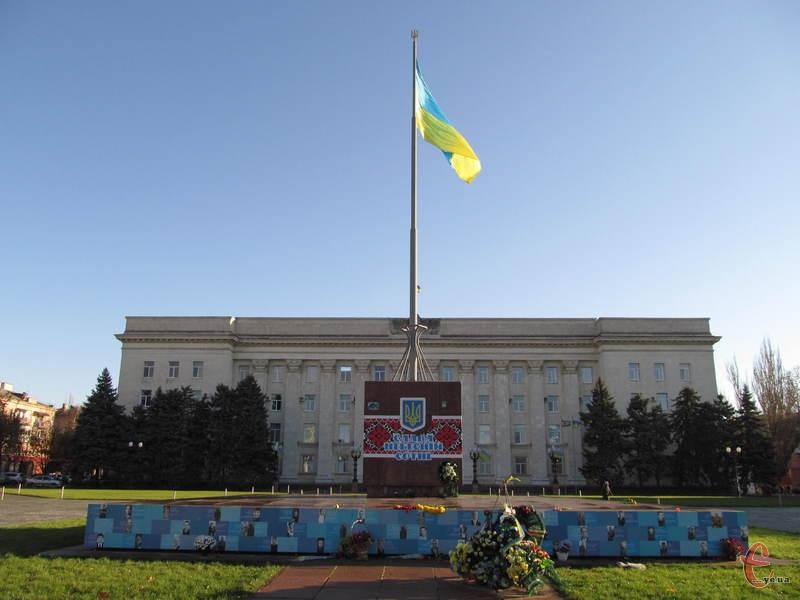 Херсон, площа Свободи. Тут починався місцевий Майдан