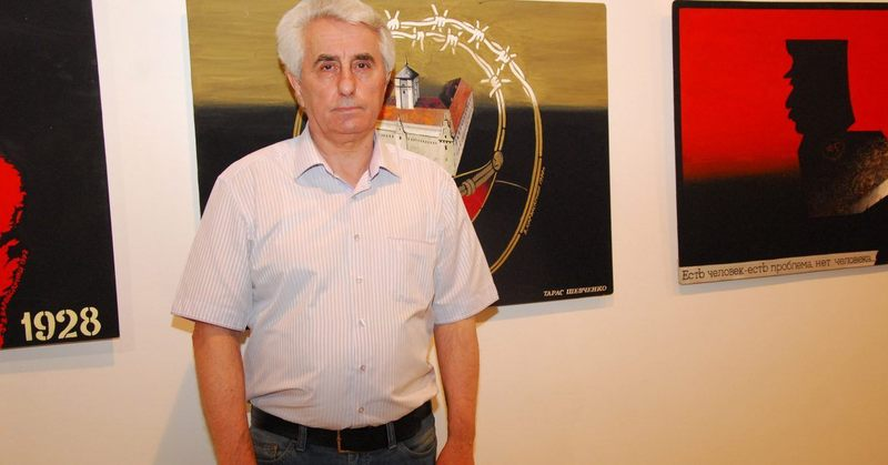 Володимир Карвасарний -  хмельницький графік та живописець