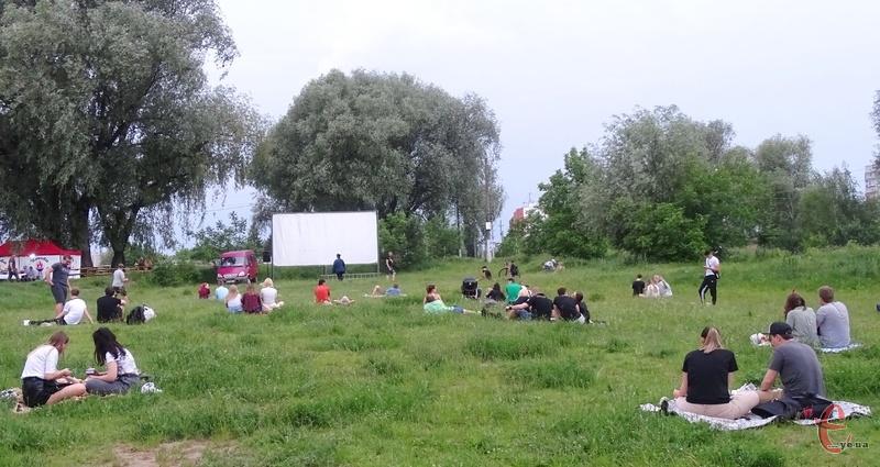 У хмельницькому парку покажуть фільм