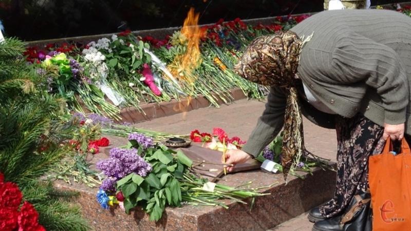 Покладання квітів відбудеться біля Вічного вогню о 10.00 годині
