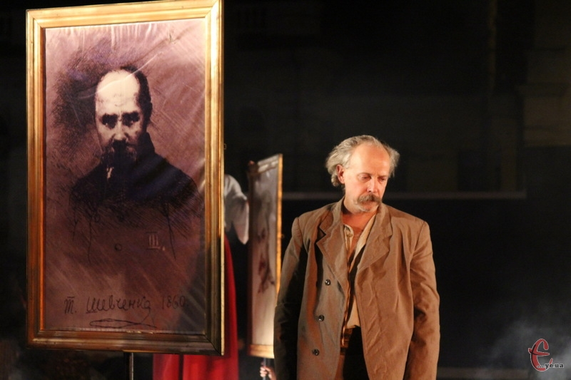 Сни за Кобзарем - вистава зі зворушливими сценами від акторів Львського театру Воскресіння