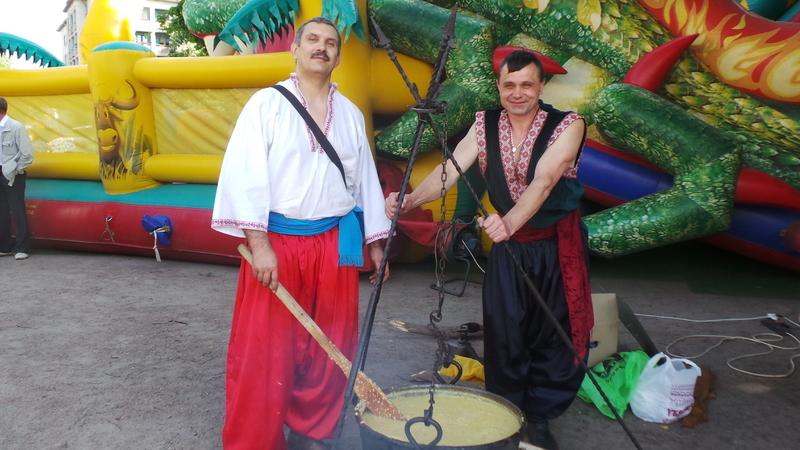 Куліш для хмельничан варили справжні козаки
