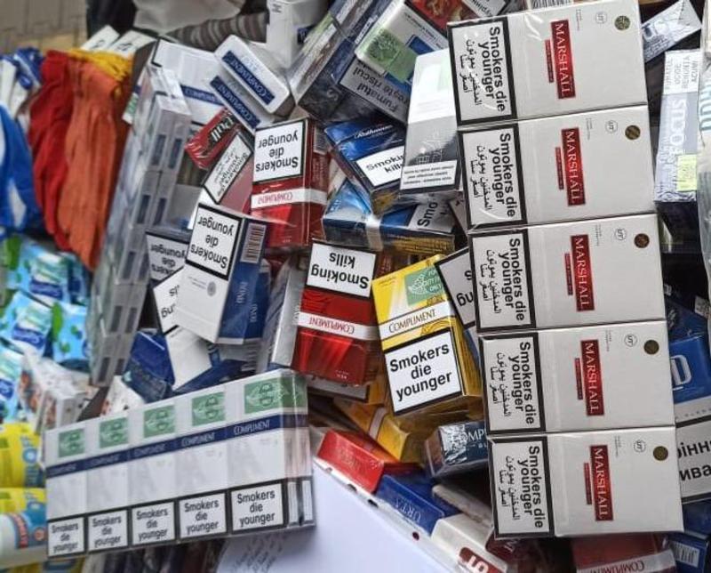 Правоохоронці Хмельниччини вилучили контрафактних цигарок більш як на 800 тисяч гривень