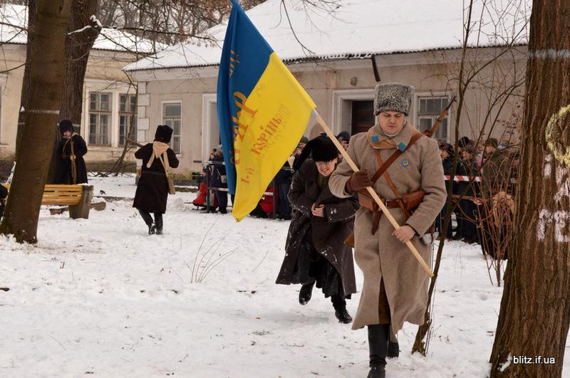 У реконстуркції бою вязли участь 100 учасників з різних міст України