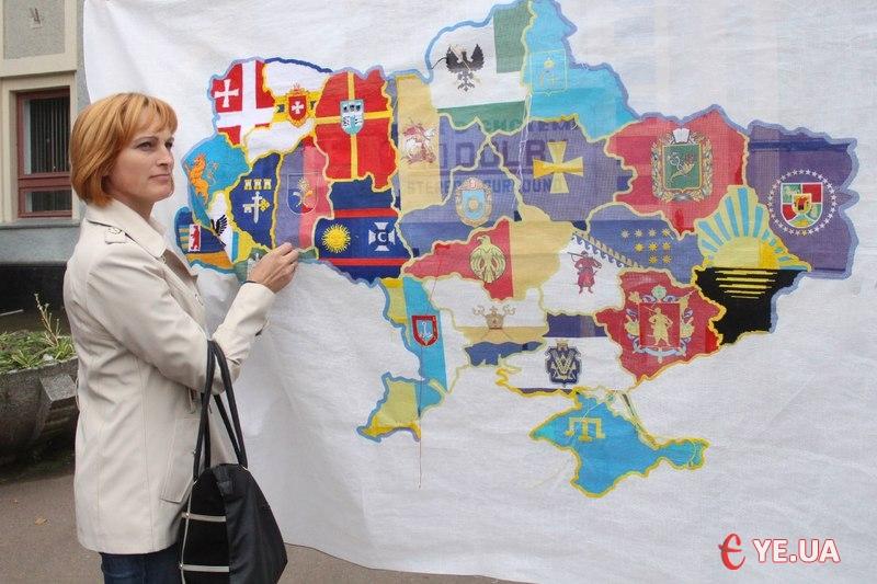 Інна Ковальчук прийшла, щоб показати свою небайдужість і єдність з країною