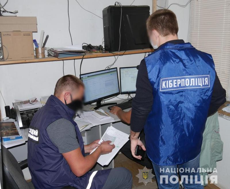 Попередньо встановлена сума збитків, завданих правовласникам, сягає 1,5 мільйона гривень