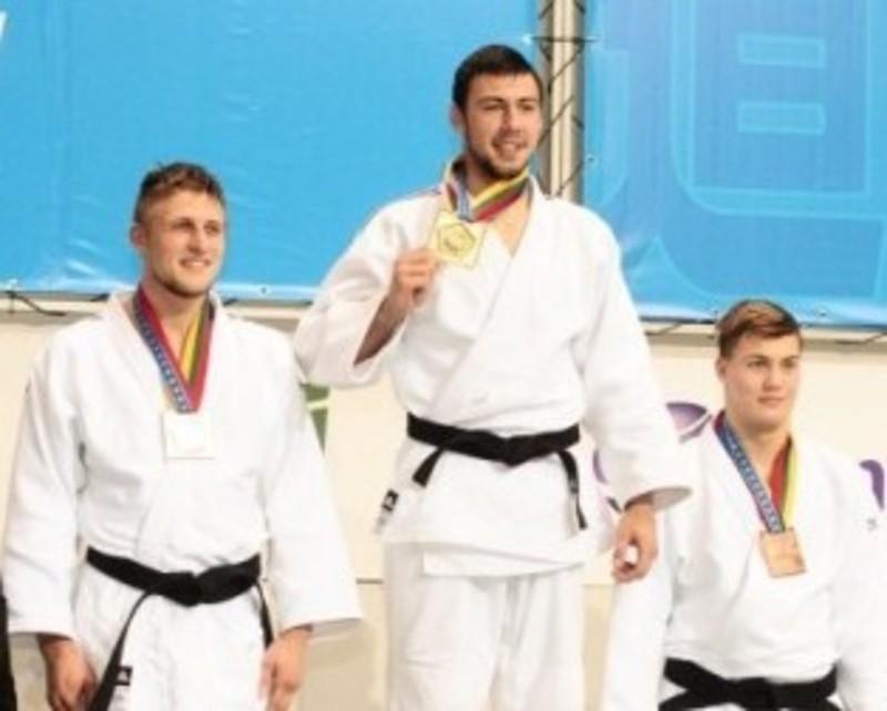 Антон Савицький - чемпіон України з дзюдо.