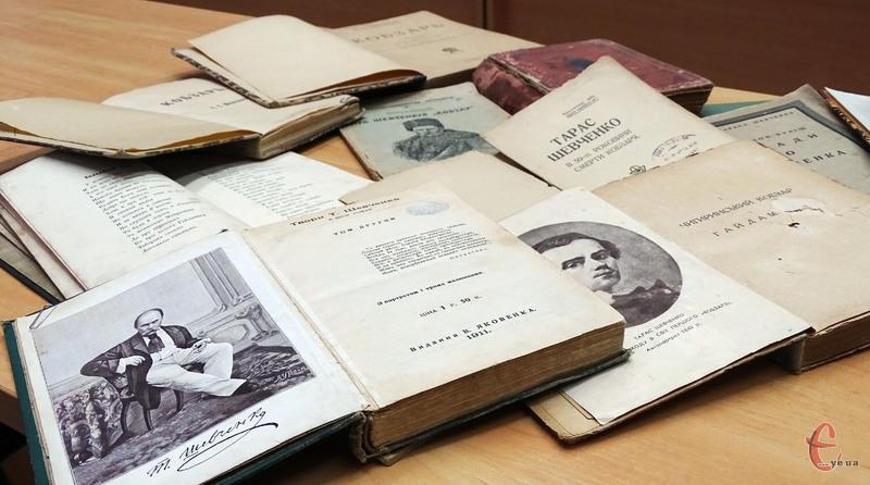 Колекцію книг Тараса Шевченка Олександр почав збирати у студентські роки