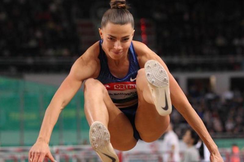 Марина Бех-Романчук встановила новий особистий рекорд - 6,96 метрів, який у цьому сезоні є найкращим результатом у світі в секторі стрибків у довжину
