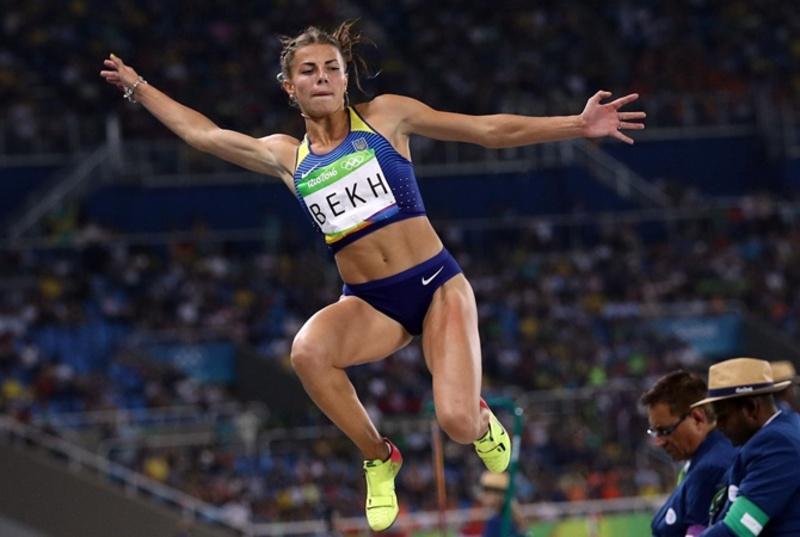 Марина Бех вдруге в лютому покращує рекорд області в секторі стрибків у довжину в закритих приміщеннях
