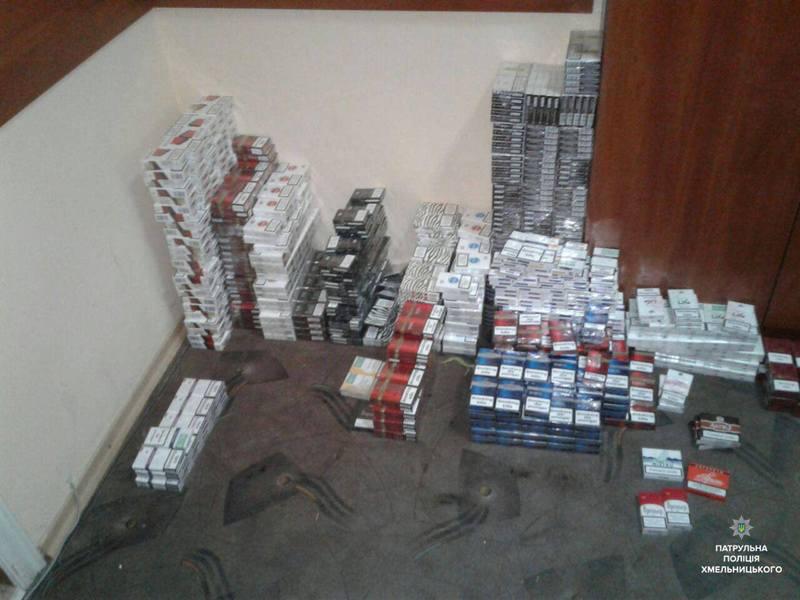 Патрульні виявили торгівлю тютюновими виробами без наявності ліцензії