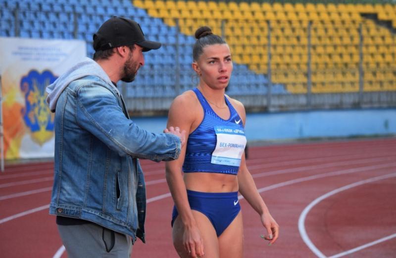 Хмельничанка Марина Бех-Романчук здобула золоту нагороду зі стрибків у довжину